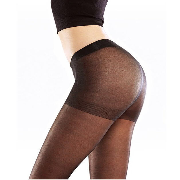 Full Support Sheer Ladder-Resistant Pantyhose (without leave marks)