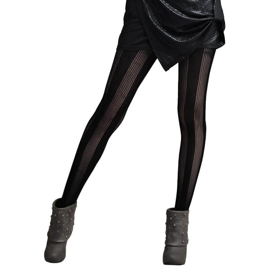 a8529c5a29706 Fashion Jacquard Pantyhose-Small Gridding Pattern