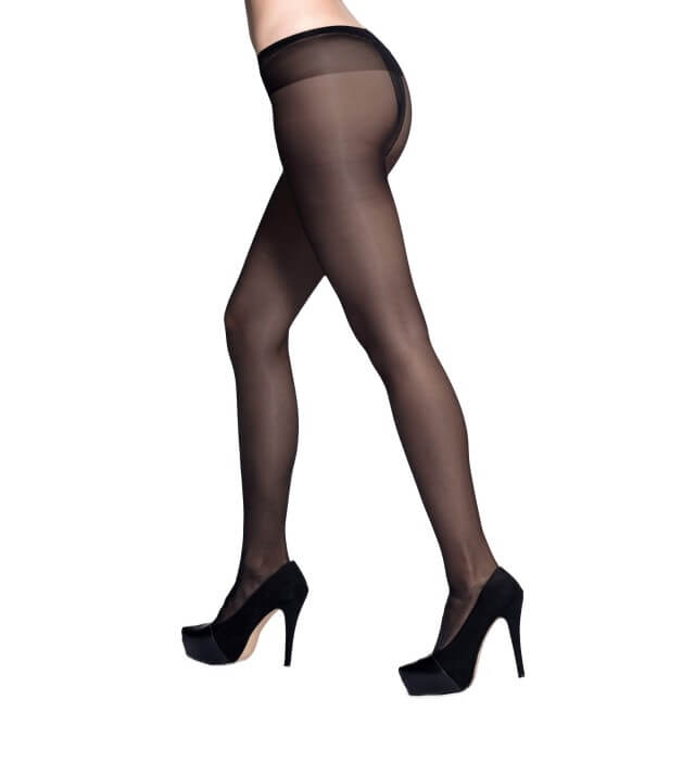 Low-rise Sheer Pantyhose (with gusset)