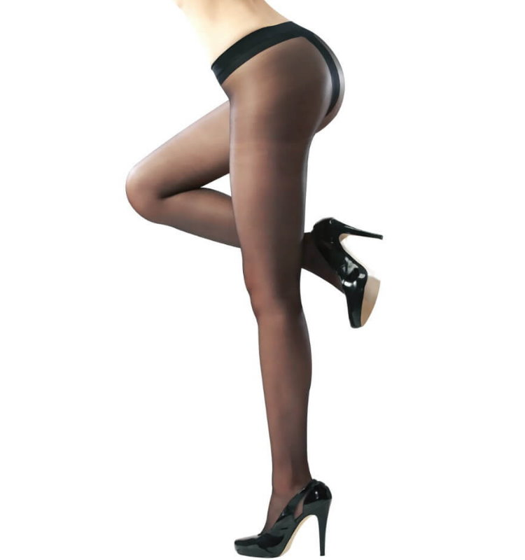 Sheer T-Shape Pantyhose
